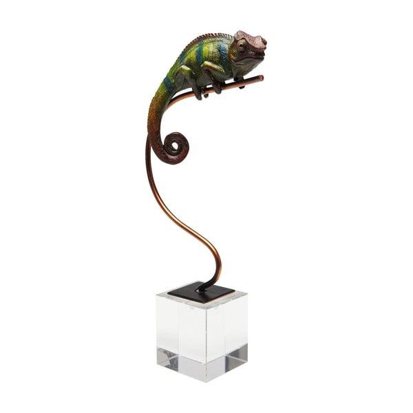 Dekorativní soška Kare Design Green Chameleon