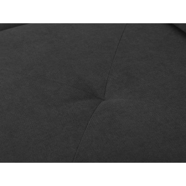 Tmavě šedá rohová rozkládací pohovka Windsor & Co Sofas, levý roh Beta