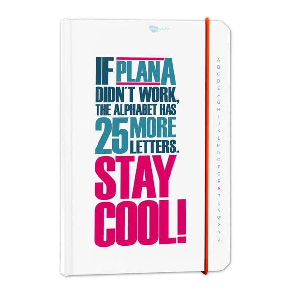 Zápisník z recyklovaného papíru If plan A didn't work...