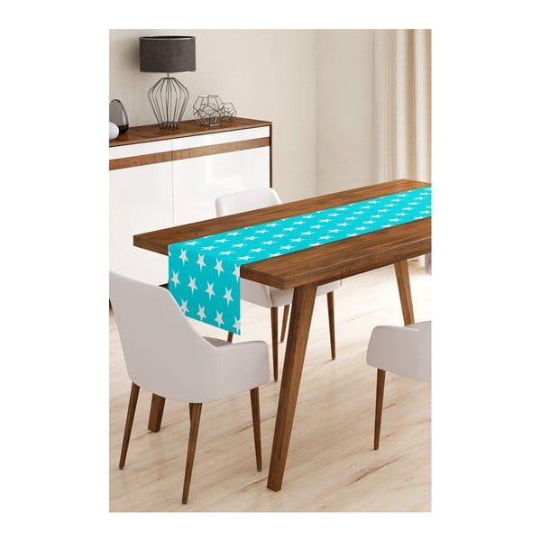 Blue Stars mikroszálas asztali futó, 45 x 145 cm - Minimalist Cushion Covers