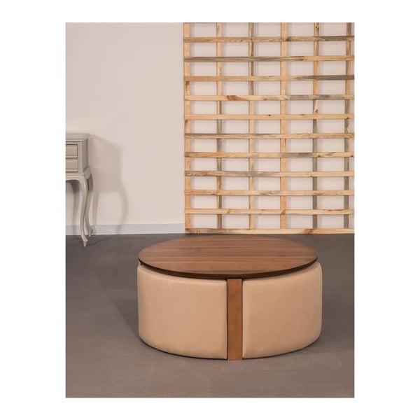 Konferenční stolek Maide Walnut