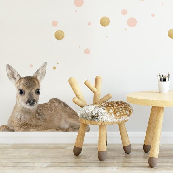 Nástěnná samolepka Dekornik Deer Lucy, 115x94cm