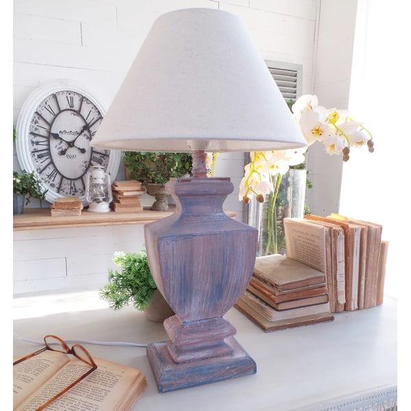 Stolní lampa Rusty Blue, 30x50 cm
