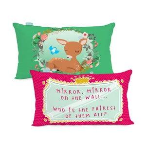 Bavlněný povlak na polštář Mr. Fox Snow White, 50x30cm