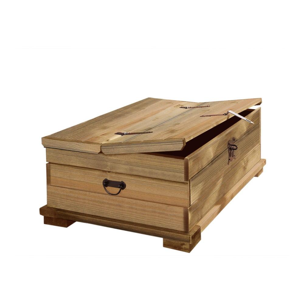 Úložná truhla z borovicového dřeva Støraa Valerie, 72x39cm