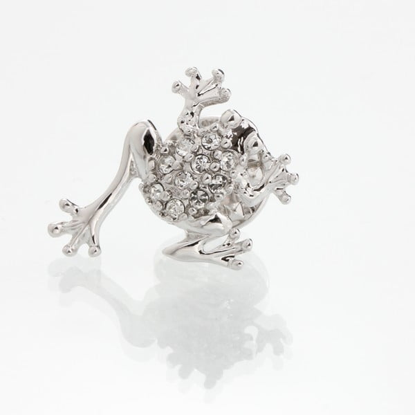 Frog Swarovski Elements bross - Laura Bruni
