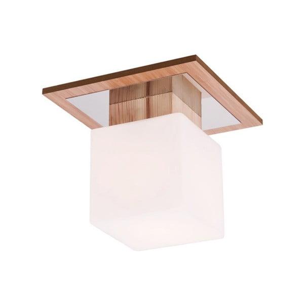 Stropní svítidlo s dřevěnou základnou Argos