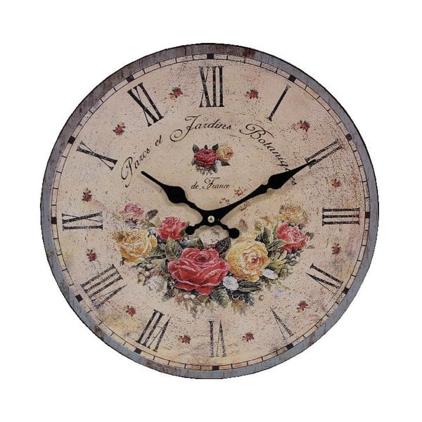 Nástěnné hodiny Antic Line Parcs et Jardins