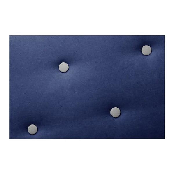 Námořnicky modrá rohová trojmístná pohovka Scandi by Stella Cadente Maison Constellation, levý roh