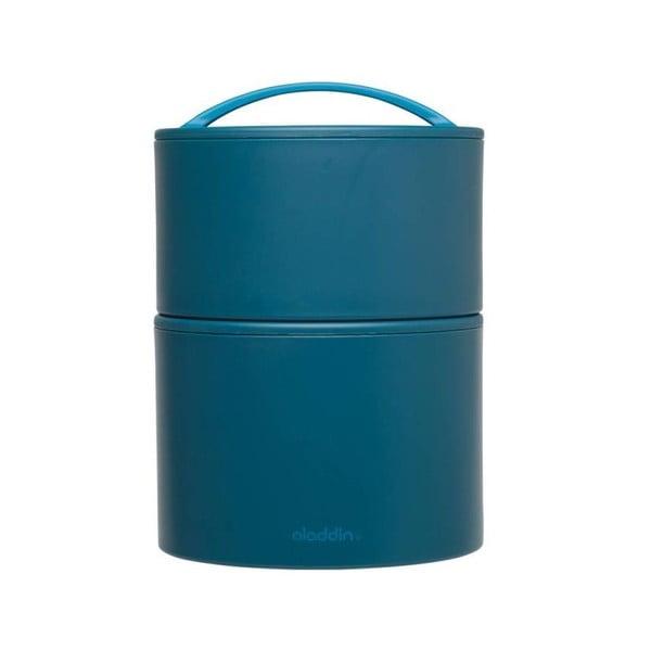 Termobox na oběd či svačinu Bento 0.95 l, modrý