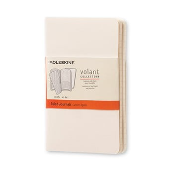 Caiet dictando Moleskine Volant, 80 pag., alb imagine