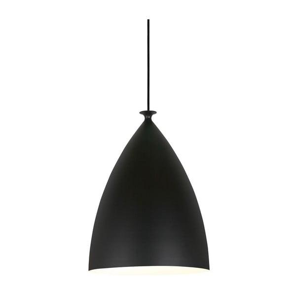 Závěsné svítidlo Nordlux Slope 20 cm, bílé/černé