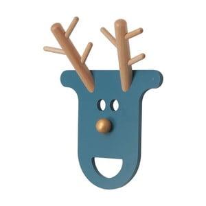 Věšák O Deer Petrol Blue