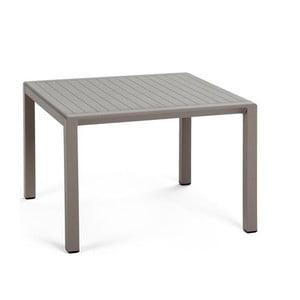 Béžovošedý zahradní odkládací stolek Nardi Garden Aria, 60x60cm