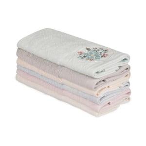 Sada 6 bavlněných ručníků Nakis Lusmo, 30 x 50 cm
