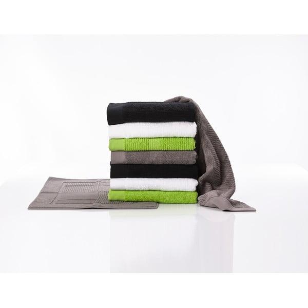 Pár malých ručníků, 2 ks, 30x30 cm, černé