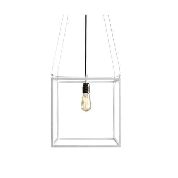 Bílé závěsné světlo Custom Form Metric