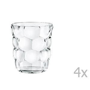 Sada 4 sklenic na whisky z křišťálového skla Nachtmann Bubbles, 330ml