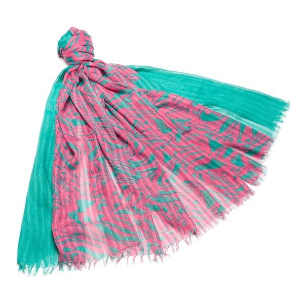 Šátek Laura Turquoise