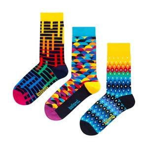 Dárková sada ponožek Ballonet Socks Color, velikost 41–46