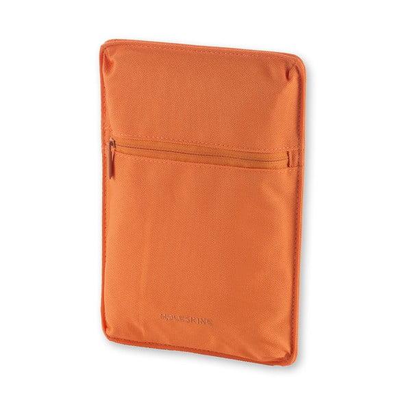 Univerzální kapsička se suchým zipem Moleskine 15x22 cm, oranžová