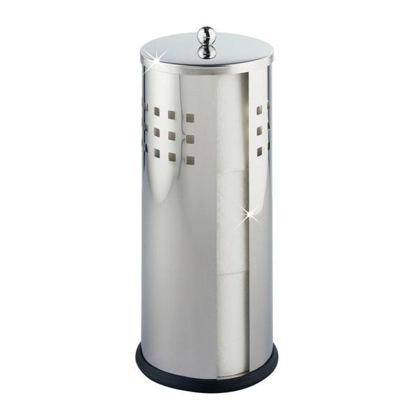 Szczotka do WC w srebrnym kolorze Wenko Ancona Shiny