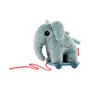Modrá hračka na kolečkách Done by Deer Elphee