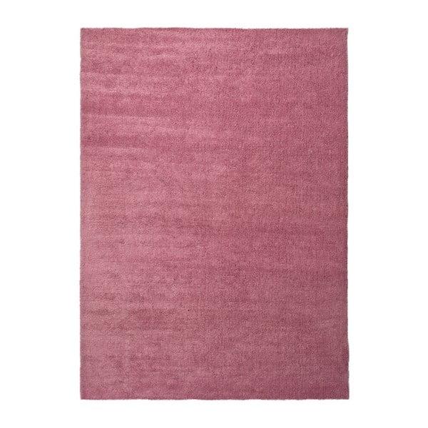 Růžový koberec Universal Shanghai Liso, 80 x 150 cm