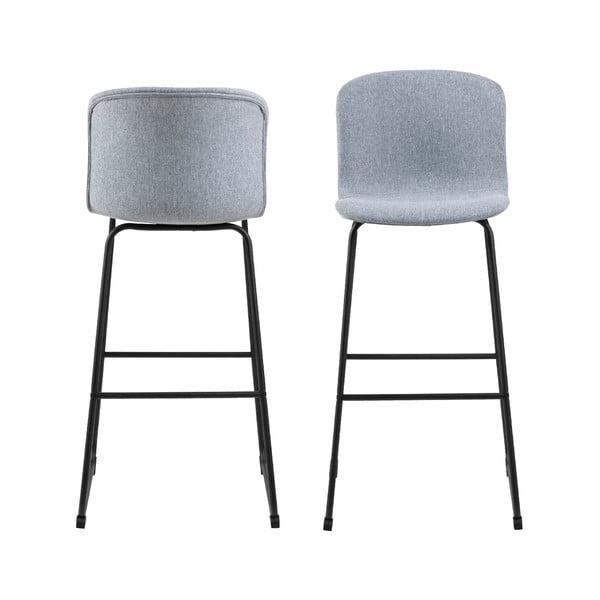 Světle šedá barová stolička Interstil Story