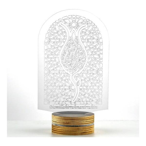 3D stolní lampa Window
