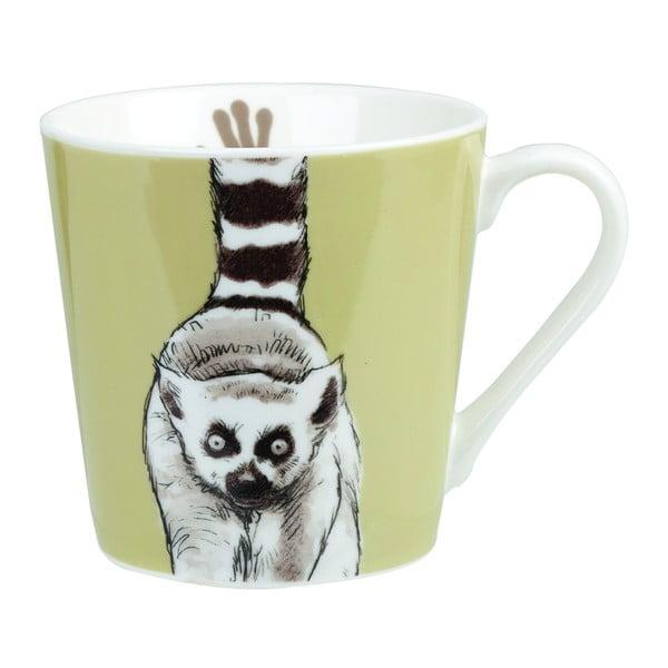 Hrnek z kostního porcelánu Churchill China Couture Kingdom Lemur,325ml