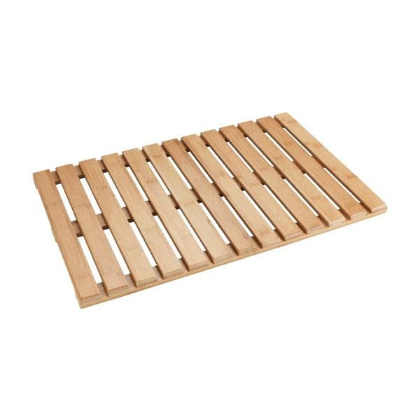 Bambusová předložka vhodná i do exteriéru Wenko Bamboo, 60 x 40cm