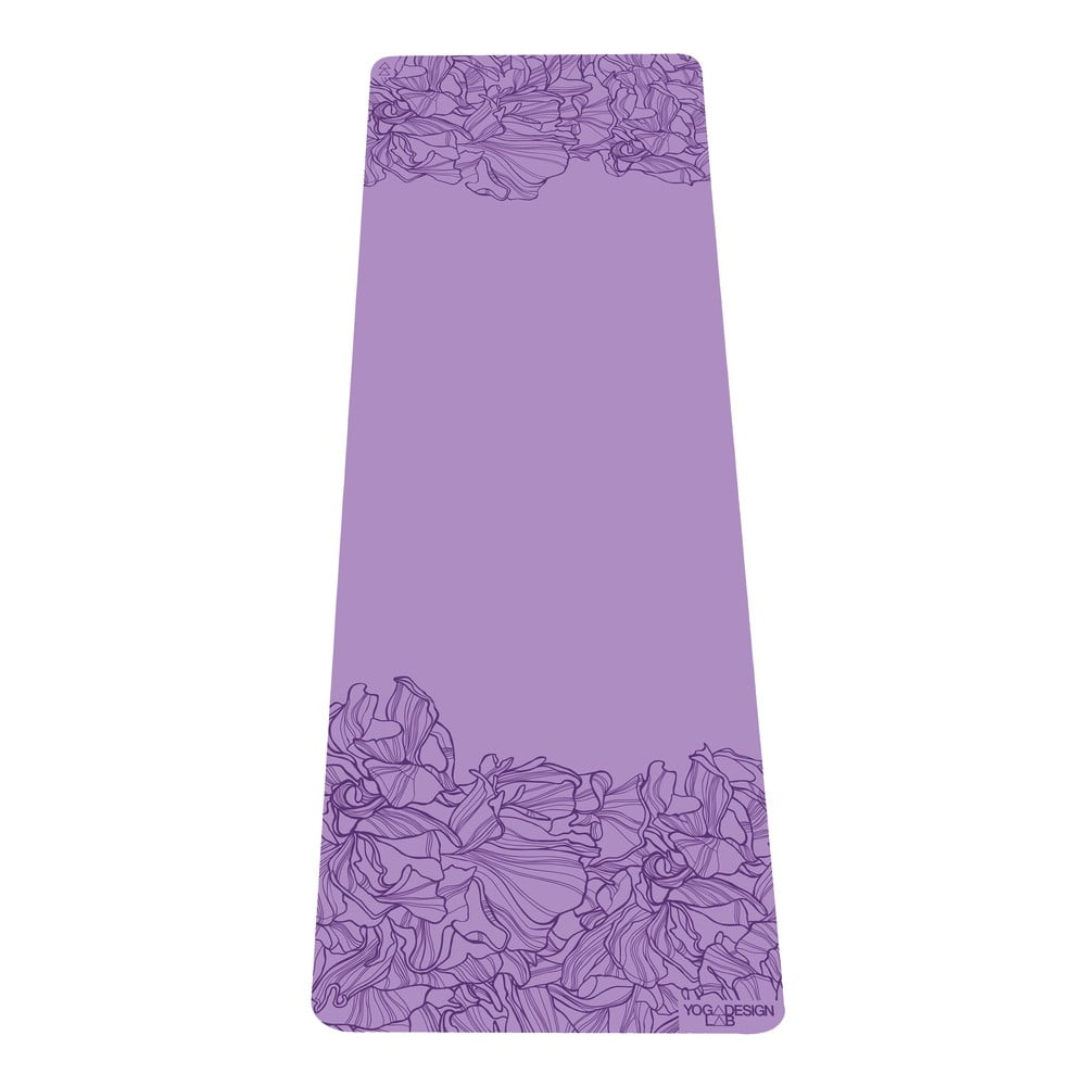 Fialová podložka na jógu Yoga Design Lab Aadrika Lavender, 5 mm