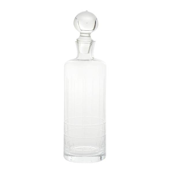 Skleněná lahev, 9x31 cm