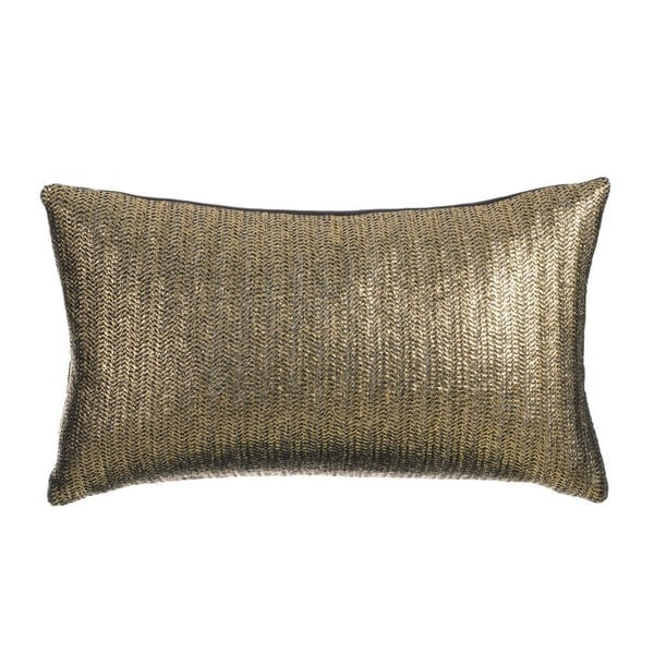 Polštář Exquisite Gold, 50x30 cm