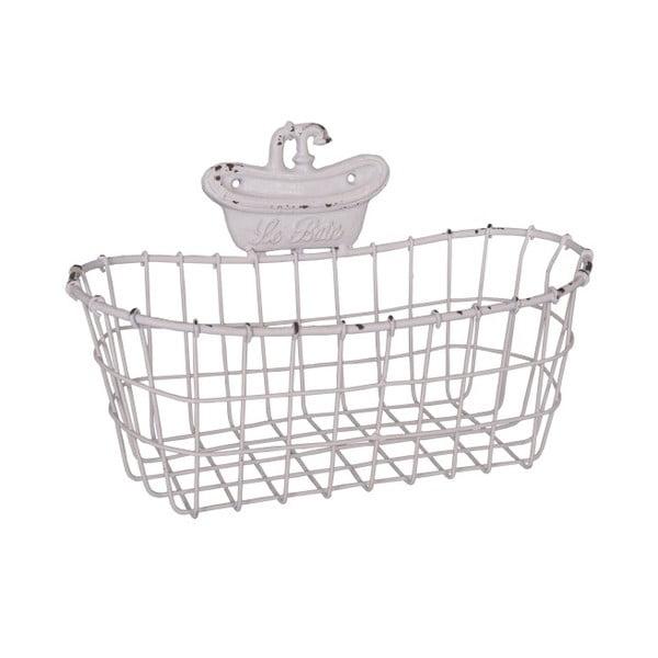 Nástěnný dekorativní košík Antic Line The Bath