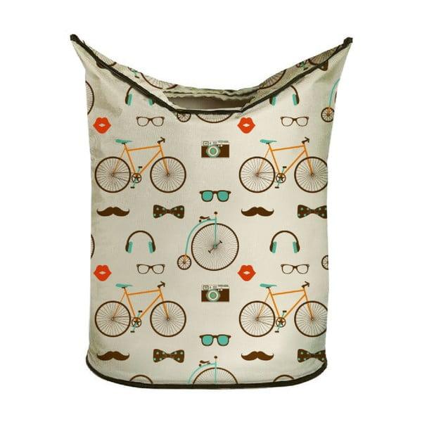 Koš na prádlo Vintage Bikes