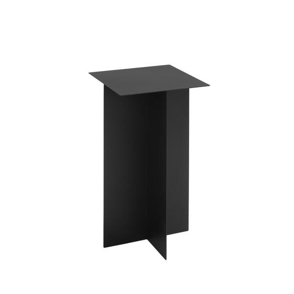 Černý odkládací stolek Custom Form Oli