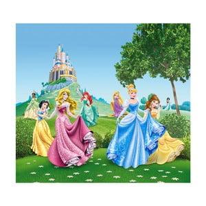 Foto závěs AG Design Disney Princezny, 160x180cm