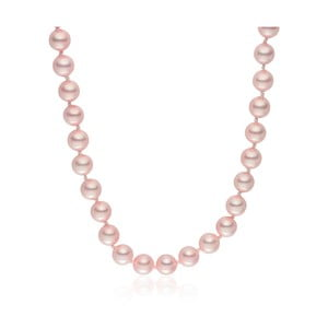 Perlový náhrdelník Pearls Of London Mystic Rose, 50cm