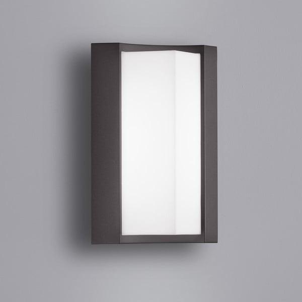 Venkovní nástěnné světlo Suez Antracit, 22 cm