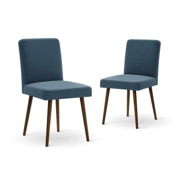Set canapea crem, 2 scaune albastre, o saltea 140 x 200 cm Home Essentials