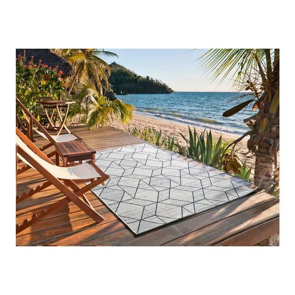 Světle šedý koberec vhodný i na ven Universal Elba, 80 x 150 cm