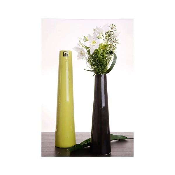 Váza Maroni 41 cm, černá