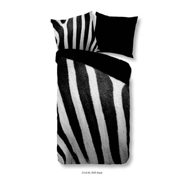 Povlečení na jednolůžko z mikroperkálu Muller Textiels Zep, 140 x 200 cm