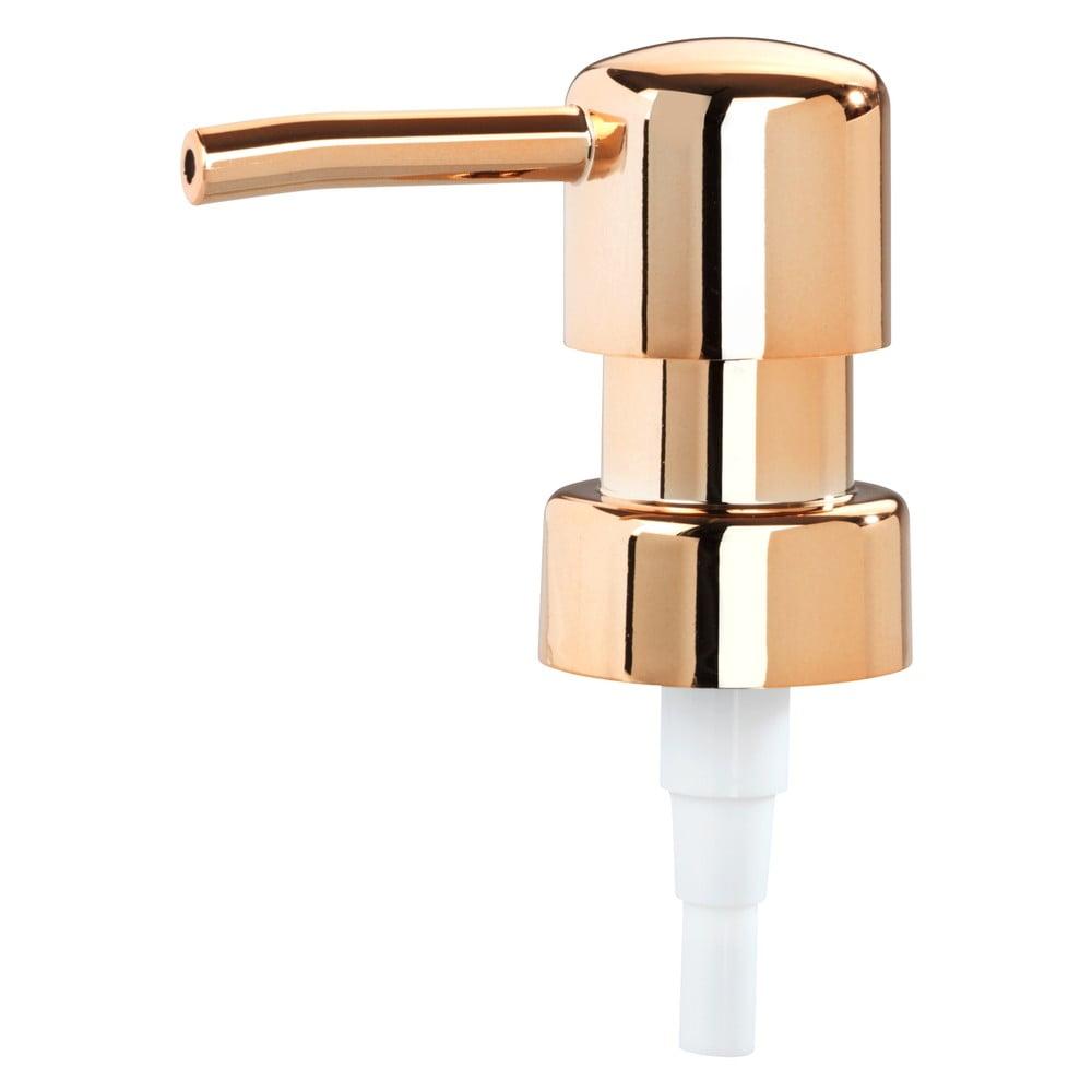 Produktové foto Pumpička na dávkovač mýdla v měděné barvě Wenko