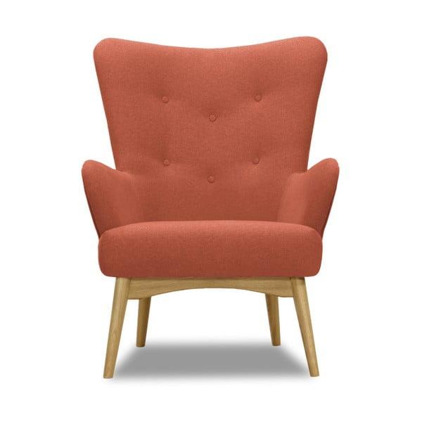Uma korall-narancssárga fotel - Vivonita