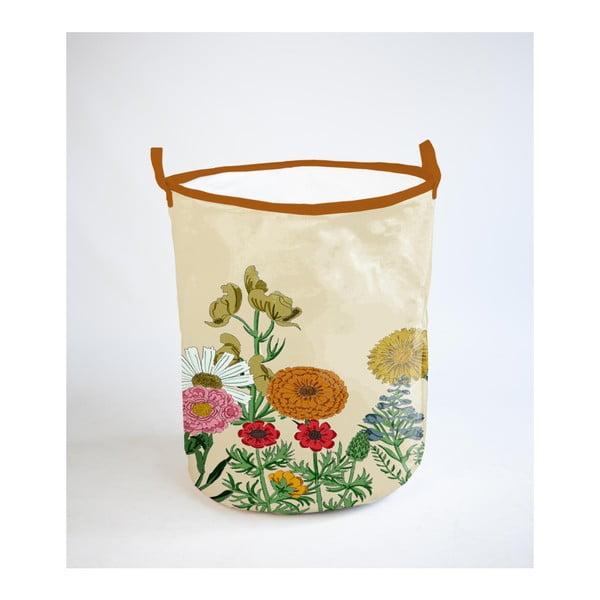 Koš na prádlo s příměsí bavlny Surdic Botanical