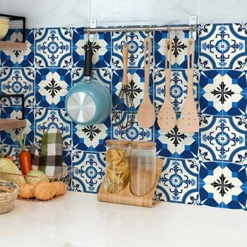 Set 24 autocolante de perete Ambiance Tiles Zina, 10 x 10 cm imagine