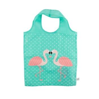 Sacoșă pentru cumpărături Sass & Belle Tropical Flamingo de la Sass & Belle
